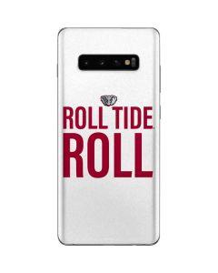 Alabama Crimson Roll Tide Galaxy S10 Plus Skin