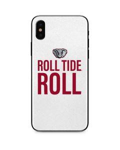 Alabama Crimson Roll Tide iPhone X Skin
