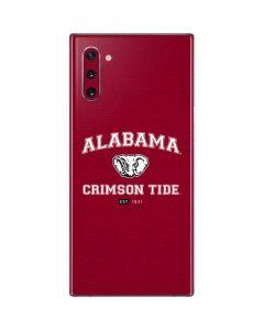 Alabama Crimson Tide Basketball Galaxy Note 10 Skin