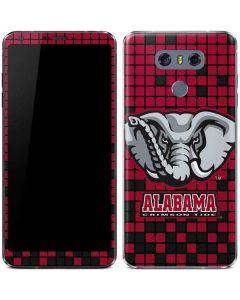 Alabama Crimson Tide Digi LG G6 Skin