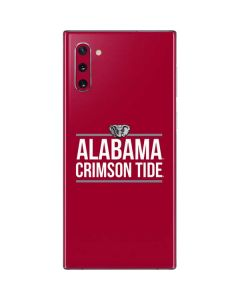 Alabama Crimson Tide Galaxy Note 10 Skin