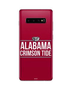 Alabama Crimson Tide Galaxy S10 Plus Skin