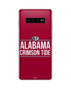 Alabama Crimson Tide Galaxy S10 Plus Skin