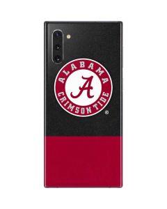 Alabama Crimson Tide Logo Galaxy Note 10 Skin