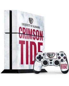 Alabama Crimson Tide Net PS4 Console and Controller Bundle Skin
