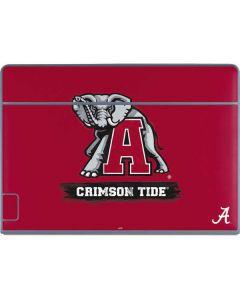 Alabama Crimson Tide Red Logo Galaxy Book Keyboard Folio 12in Skin