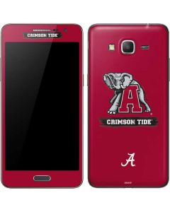 Alabama Crimson Tide Red Logo Galaxy Grand Prime Skin