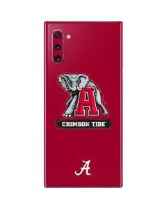 Alabama Crimson Tide Red Logo Galaxy Note 10 Skin