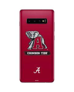 Alabama Crimson Tide Red Logo Galaxy S10 Plus Skin