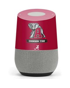 Alabama Crimson Tide Red Logo Google Home Skin
