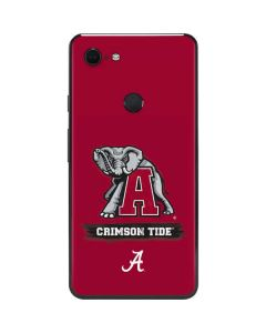 Alabama Crimson Tide Red Logo Google Pixel 3 XL Skin