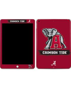 Alabama Crimson Tide Red Logo Apple iPad Skin
