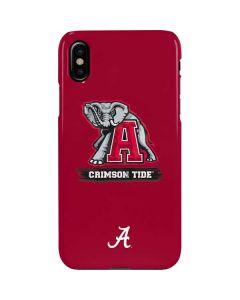 Alabama Crimson Tide Red Logo iPhone XS Max Lite Case