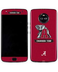 Alabama Crimson Tide Red Logo Moto X4 Skin