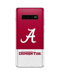 Alabama Logo Large Galaxy S10 Plus Skin