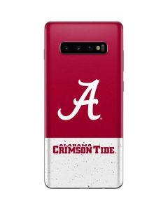 Alabama Logo Large Galaxy S10 Plus Skin