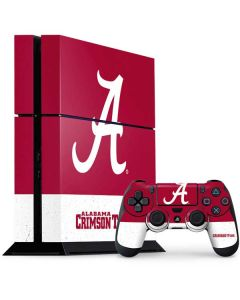 Alabama Logo Large PS4 Console and Controller Bundle Skin
