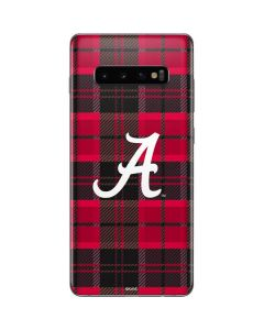 Alabama Plaid Galaxy S10 Plus Skin