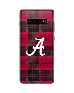 Alabama Plaid Galaxy S10 Plus Skin