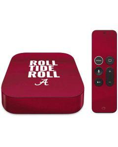 Alabama Roll Tide Roll Apple TV Skin