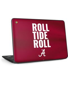 Alabama Roll Tide Roll HP Chromebook Skin