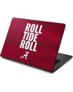 Alabama Roll Tide Roll Dell Chromebook Skin