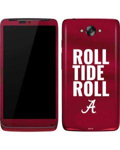 Alabama Roll Tide Roll Motorola Droid Skin