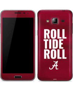 Alabama Roll Tide Roll Galaxy J3 Skin
