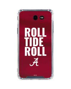 Alabama Roll Tide Roll Galaxy J7 (2017) Clear Case