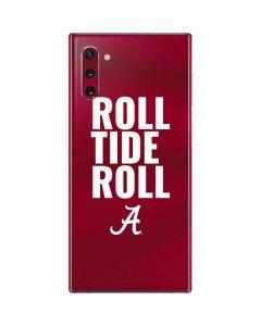 Alabama Roll Tide Roll Galaxy Note 10 Skin