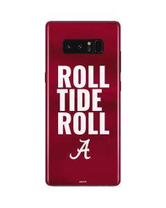 Alabama Roll Tide Roll Galaxy Note 8 Skin