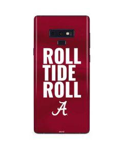 Alabama Roll Tide Roll Galaxy Note 9 Skin