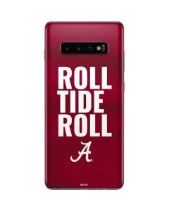 Alabama Roll Tide Roll Galaxy S10 Plus Skin