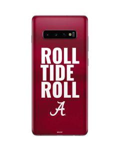Alabama Roll Tide Roll Galaxy S10 Plus Skin