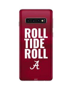 Alabama Roll Tide Roll Galaxy S10 Skin