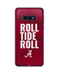 Alabama Roll Tide Roll Galaxy S10e Skin