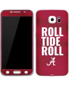 Alabama Roll Tide Roll Galaxy S6 Skin