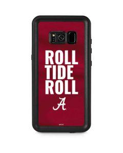Alabama Roll Tide Roll Galaxy S8 Plus Waterproof Case