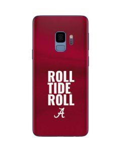 Alabama Roll Tide Roll Galaxy S9 Skin