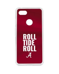 Alabama Roll Tide Roll Google Pixel 3 XL Clear Case
