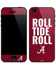 Alabama Roll Tide Roll iPhone 5/5s/SE Skin