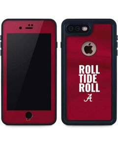 Alabama Roll Tide Roll iPhone 8 Plus Waterproof Case