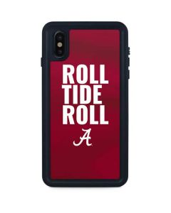 Alabama Roll Tide Roll iPhone XS Max Waterproof Case