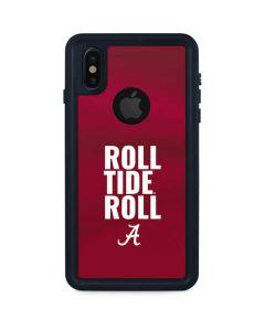 Alabama Roll Tide Roll iPhone XS Waterproof Case