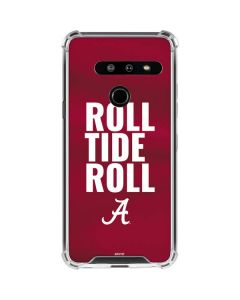Alabama Roll Tide Roll LG G8 ThinQ Clear Case