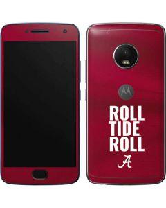 Alabama Roll Tide Roll Moto G5 Plus Skin