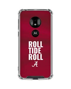 Alabama Roll Tide Roll Moto G7 Play Clear Case