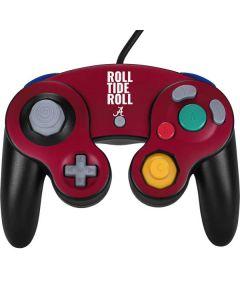 Alabama Roll Tide Roll Nintendo GameCube Controller Skin