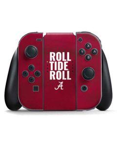 Alabama Roll Tide Roll Nintendo Switch Joy Con Controller Skin