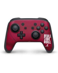 Alabama Roll Tide Roll Nintendo Switch Pro Controller Skin